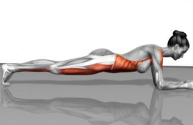 Resultado de imagen de abdominales isometricos