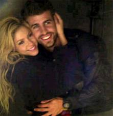 Shakira y Piqué: Ternura total!