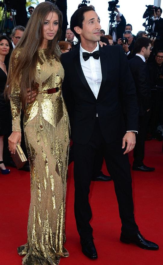 Adrien Brody y Lara Lieto