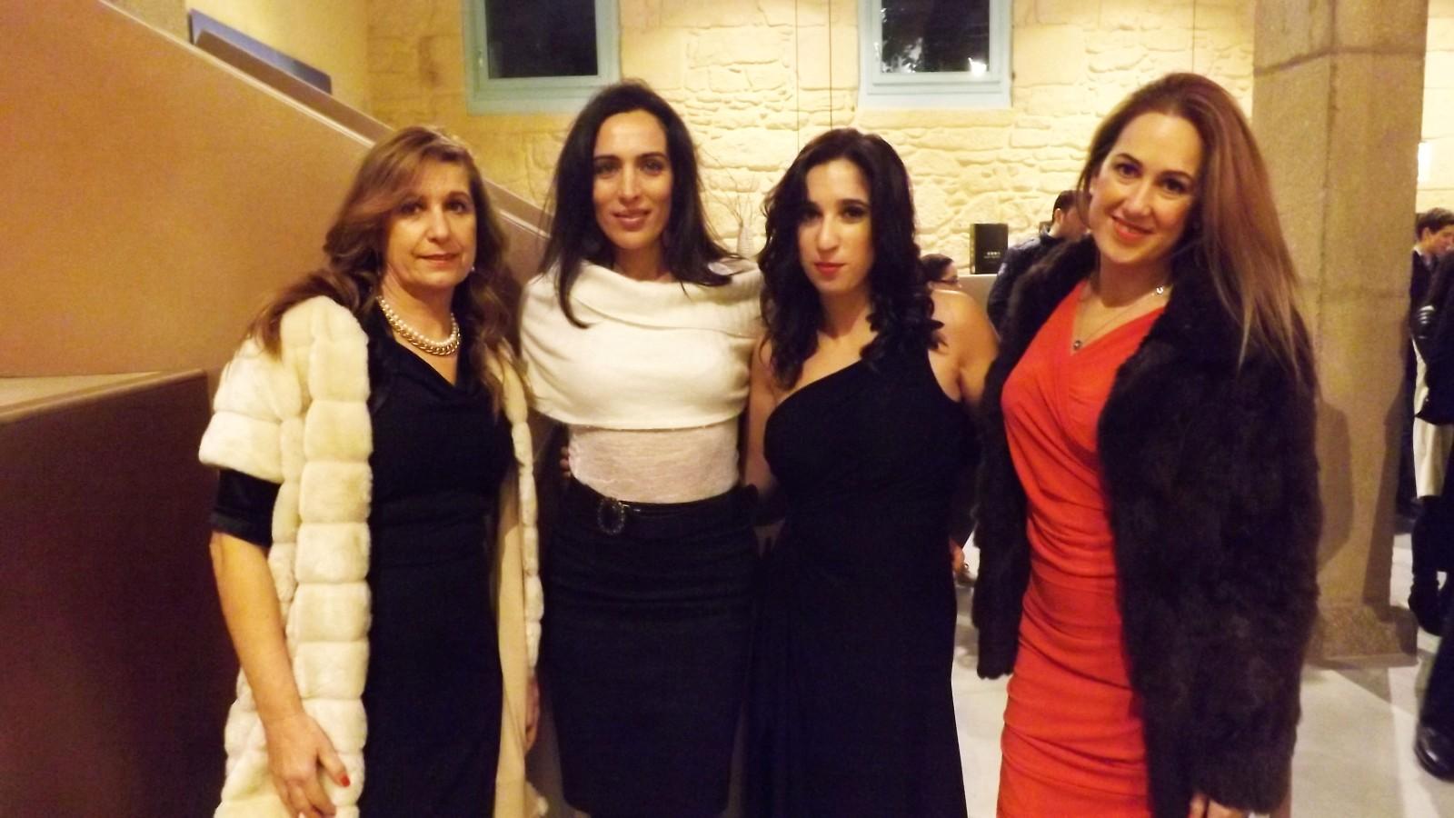 Con Amanda Chic y sus colaboradoras Cloé y Vanesa