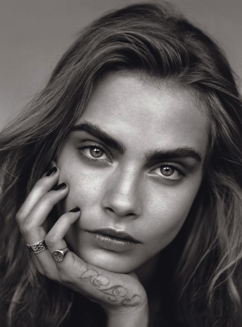 Vogue UK January 2014