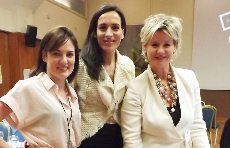 Con Sara Cabello y Mylène Thioux de Equivalenza