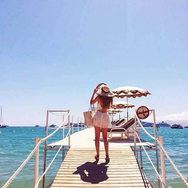 Kristina en Cannes. Imagen Kayture.com