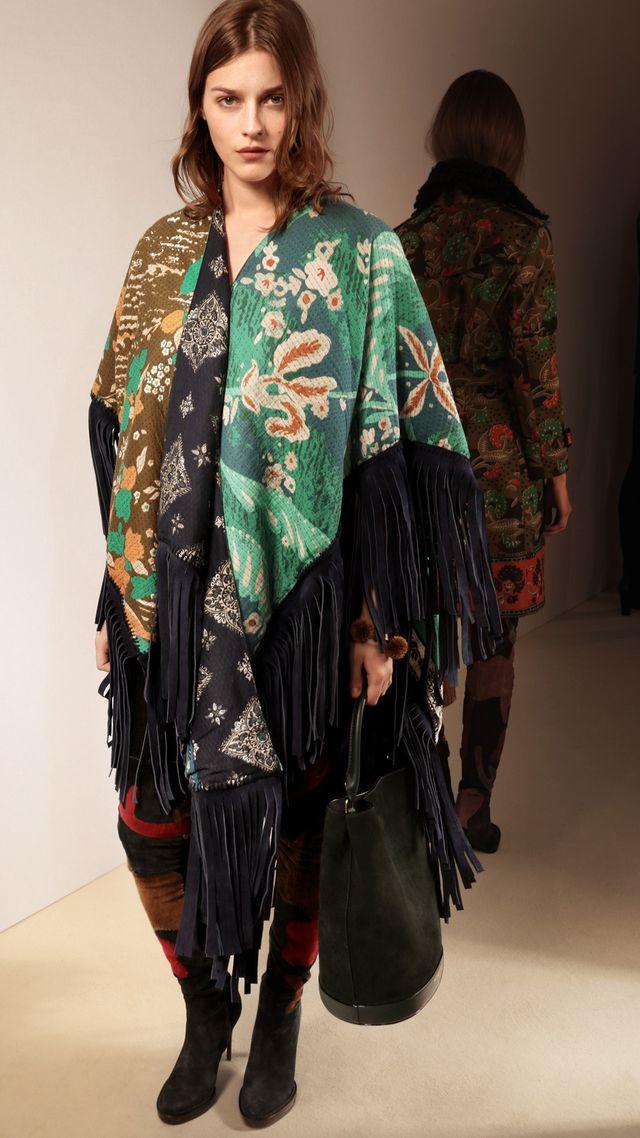 Burberry Damenbekleidung Herbst/Winter 2015