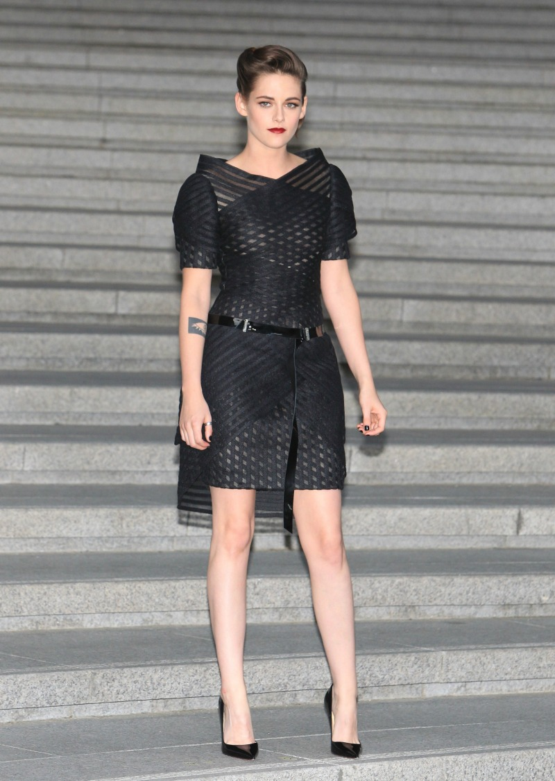 attends the the Chane 2015/16 Cruise Collection show on May 4, 2015 in Seoul, South Korea.